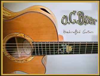 OC Bear guitars